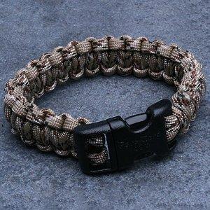 image of a paracord bracelet