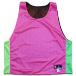 Neon lacrosse pinnies