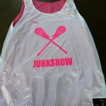 Make your own lacrosse pinnies