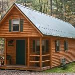 prefab log cabins