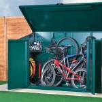 outdoor bike storage