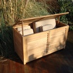 outdoor cushion box